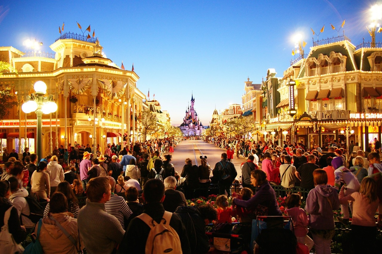 disneyland paris parc France